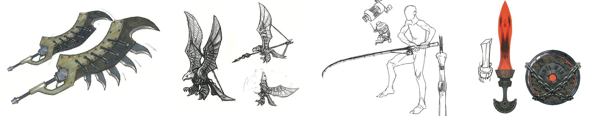 《魔物獵人:世界》武器設計比賽-作品例