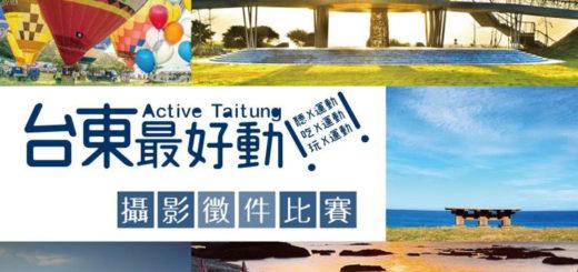 臺東縣政府2017「臺東最好動」攝影徵件比賽