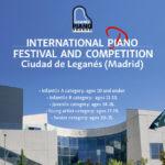 International Piano Competition Ciudad de Leganés