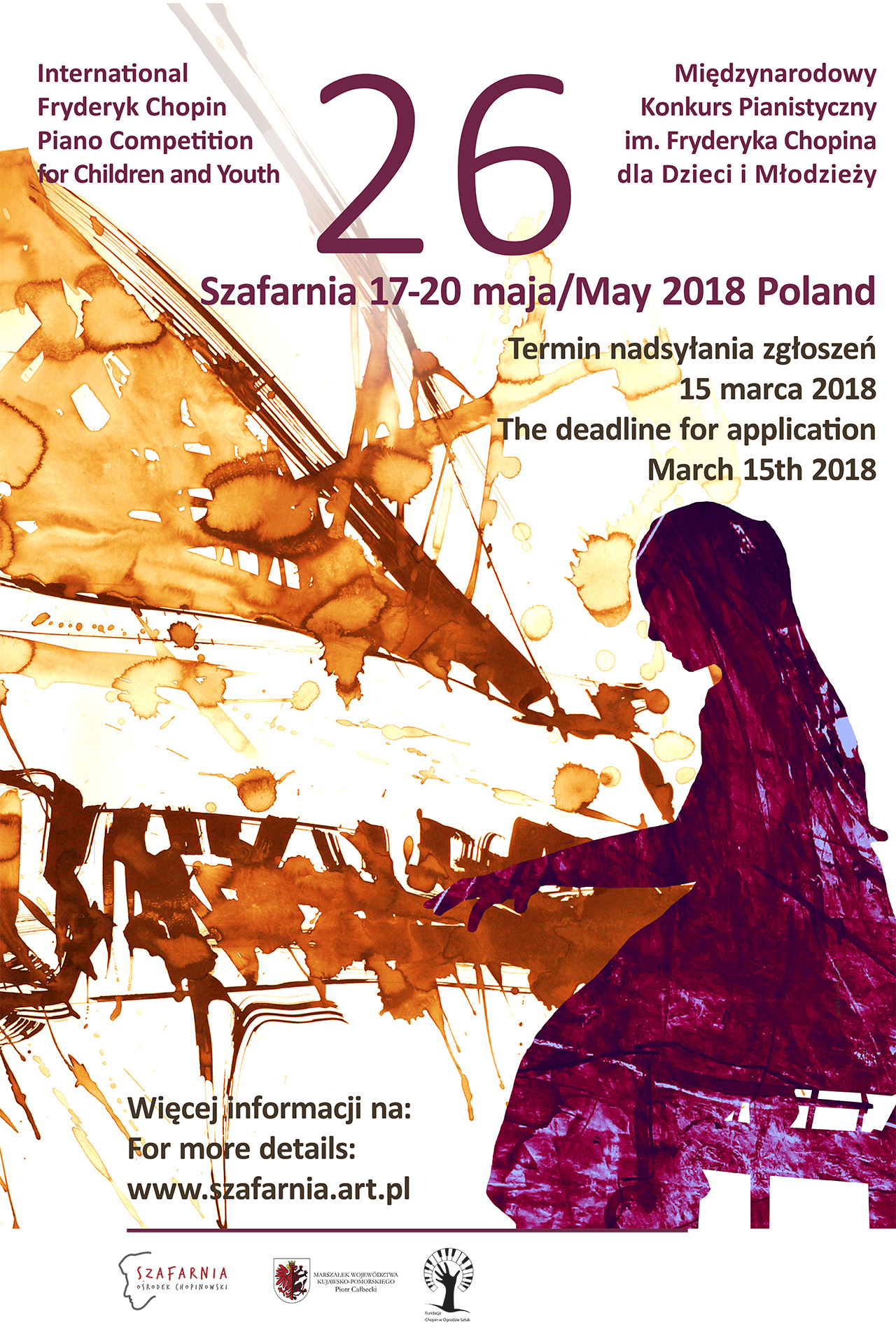 The 26th International Fryderyk Chopin Piano Competition for Children and Youth Szafarnia 2018