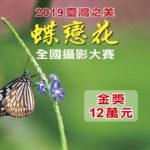 2019華南銀行「臺灣之美.蝶戀花」全國攝影大賽