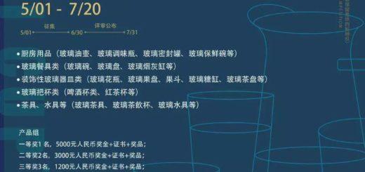 2019安徽省第六屆工業設計大賽 「德力杯」專項賽方案