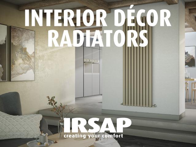 Interior décor radiators