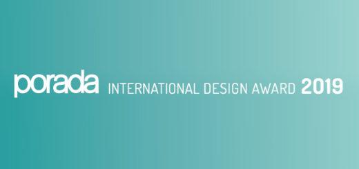 PORADA INTERNATIONAL DESIGN AWARD 2019