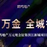 鶴鳴地產濱江新城項目案名徵集