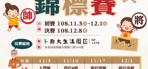 2019臺北市中正盃全國象棋錦標賽 EDM