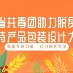 陝西省共青團助力脫貧攻堅農特產品包裝設計大賽