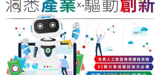 2019「洞悉產業x驅動創新」AI新銳領航者競賽
