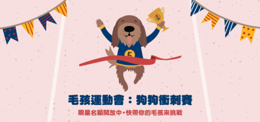 2020台北國際寵物生活用品&服務展「毛孩運動會.狗狗衝刺賽」