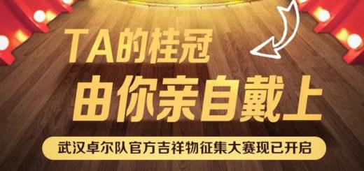 武漢卓爾隊官方吉祥物徵集大賽