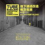 中國昆明 TUBE 8x8x300 地下通道改造競賽