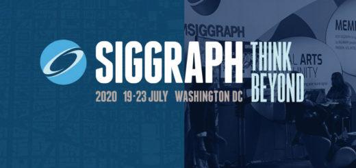 2020美國 ACM SIGGRAPH 電腦動畫展