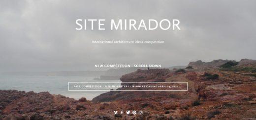 SITE MIRADOR 國際建築創意設計大賽