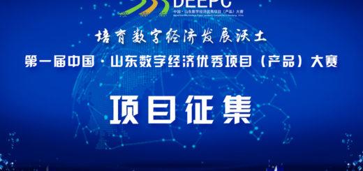 中國.山東數字經濟優秀項目(產品)大賽