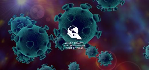 「纪念.反思」對抗新冠病毒。世界公益繪畫大賽