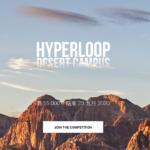 HYPERLOOP DESERT CAMPUS 超級沙漠校園建築設計競賽