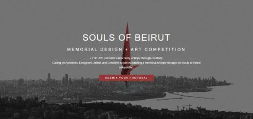 SOULS OF BEIRUT MEMORIAL DESIGN + ART COMPETITION