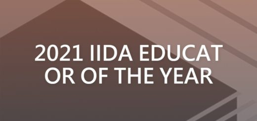 2021 IIDA EDUCATOR OF THE YEAR