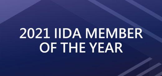 2021 IIDA MEMBER OF THE YEAR