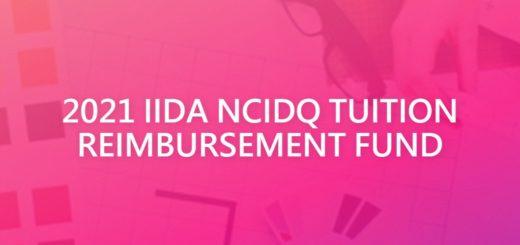 2021 IIDA NCIDQ TUITION REIMBURSEMENT FUND
