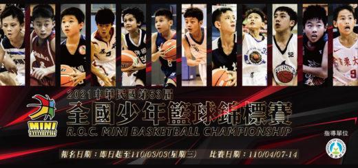 2021第五十三屆中華民國全國少年籃球錦標賽