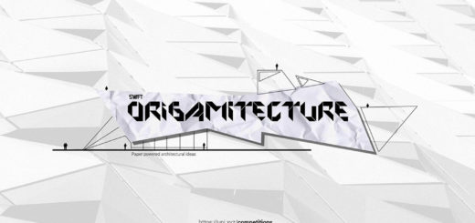 Swift Origamitecture Paper powered architecture ideas