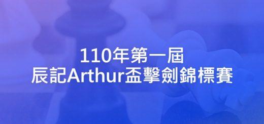 110年第一屆辰記Arthur盃擊劍錦標賽