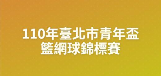 110年臺北市青年盃籃網球錦標賽