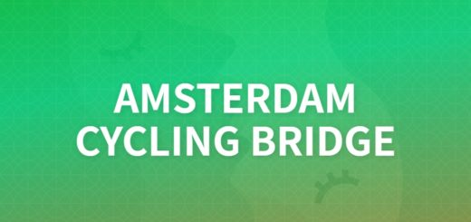 AMSTERDAMCYCLING BRIDGE