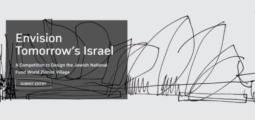 Envision Tomorrow's Israel - A Competition to Design the Jewish National Fund World Zionist Village