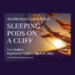Sleeping Pods on a Cliff Architecture Competition