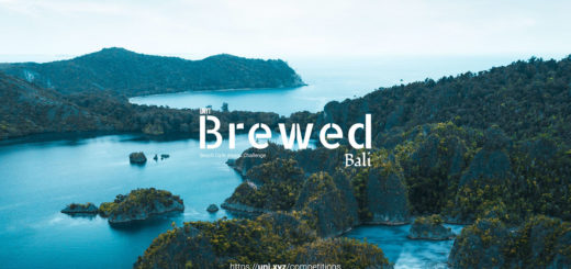 「Brewed - Bali」Beach themed café design challenge