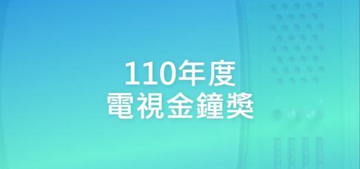 110年度電視金鐘獎