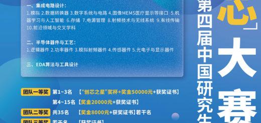 2021第四屆「華為杯」中國研究生創「芯」大賽
