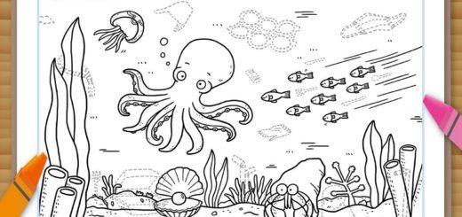 賽馬會社區持續抗逆基金.海洋走塑行動填色比賽