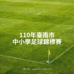 110年臺南市中小學足球錦標賽