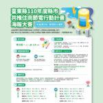 2021年臺東縣縣市共推住商節電行動計畫海報大賽