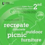 2021 2nd Public Space Design Competition : recreate concrete outdoor picnic furniture