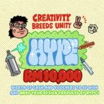 HYPE CREATIVITY BREEDS UNITY 2.0