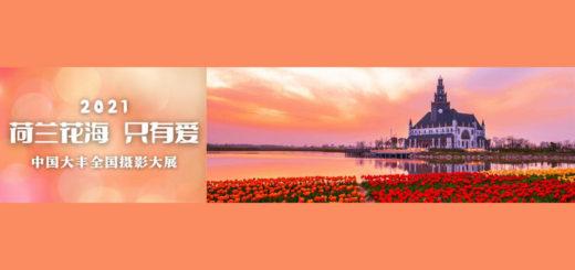 2021「荷蘭花海.只有愛」中國.大豐全國攝影大展
